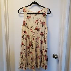 American Eagle outfitters floral tiered dress